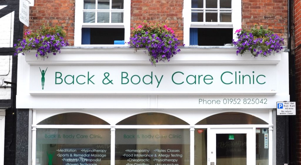 Back and Body Care Newport